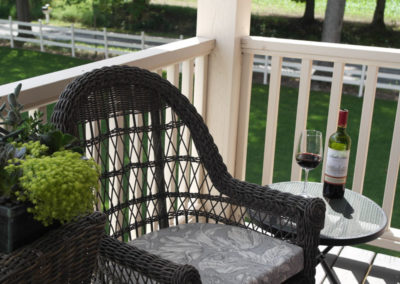 The Irish Suite Balcony